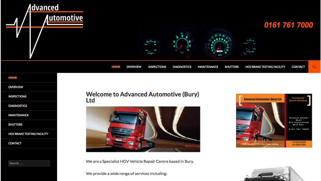 Advanced Automotive (Bury) Ltd