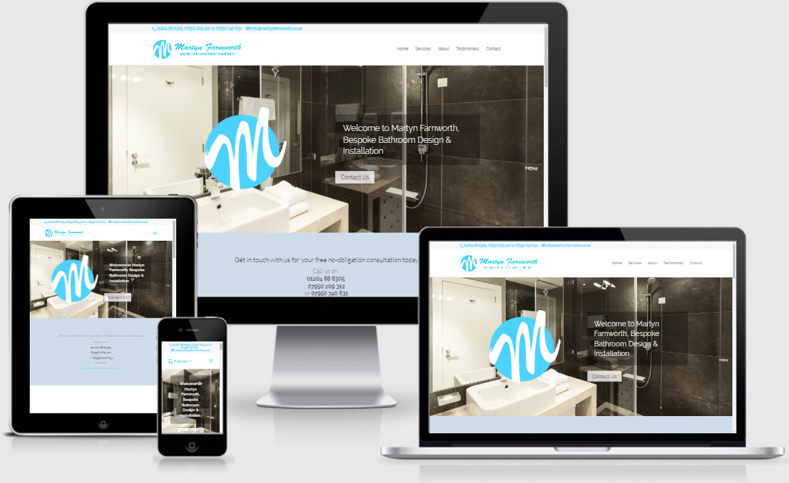 Martyn Farnworth Bathroom Design - Totally Websites